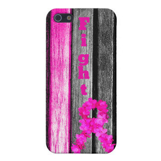 Fight Breast Cancer Cover For iPhone 5/5S