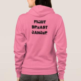 FIGHT BREAST CANCER FLEECE HOODIE