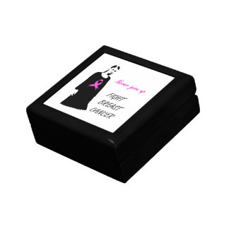 Fight breast cancer gift box