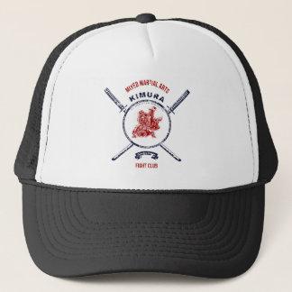 Fight Club Grunge print with samurai swords Trucker Hat