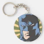 Fight Crime - Keep Peace - Batman Basic Round Button Keychain