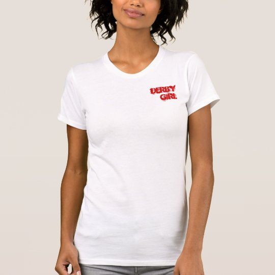 Fight Derby V Neck Wht T-Shirt