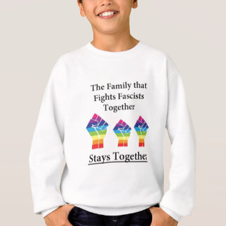 Fight Facsists Pride Sweatshirt