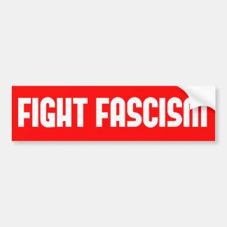 Fight Fascism Bumper Sticker
