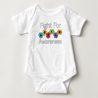 Fight For Autism Awareness Great Gift Baby Bodysuit