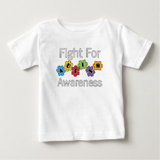 Fight For Autism Awareness Great Gift Baby T-Shirt