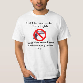 Fight for Concealed Carry Rights T-Shirt