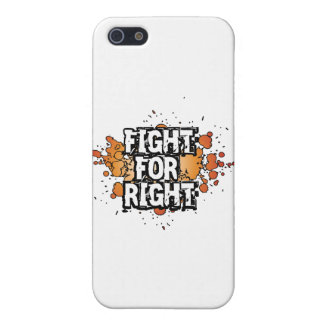 Fight-For-Right Covers For iPhone 5