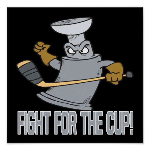 Fight For The Cup Poster