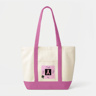Fight For The Cure Canvas Bags