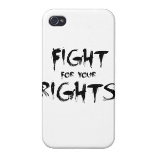 Fight for your rights iPhone 4/4S cover