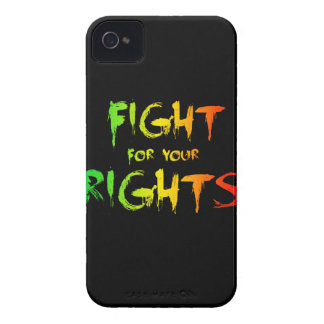 Fight for your rights iPhone 4 cover