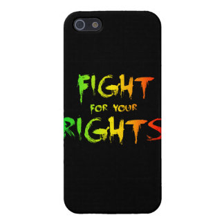 Fight for your rights iPhone 5/5S case