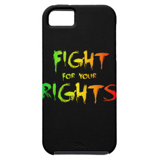 Fight for your rights iPhone 5 case