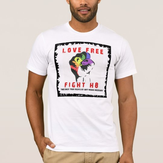 fight h8 copy T-Shirt