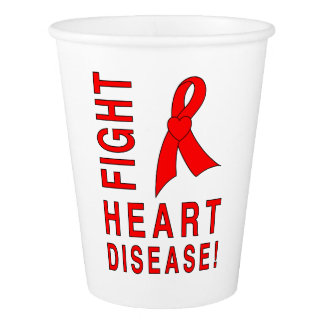 Fight Heart Disease Paper Cup