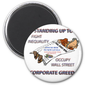FIGHT INEQUALITY IN AMERICA PRODUCTS 2 INCH ROUND MAGNET