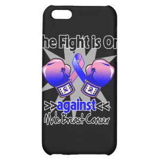 Fight is On Against Male Breast Cancer iPhone 5C Case