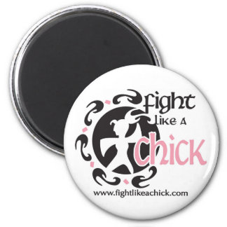 Fight Like A Chick Magnet