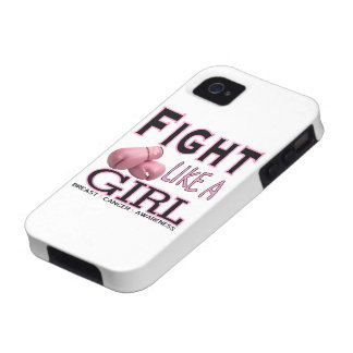 Fight Like a Girl Case For The iPhone 4