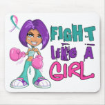 Fight Like a Girl Thyroid Cancer 42.8.png Mousepad
