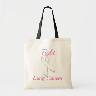 Fight Lung Cancer - Tote Bag