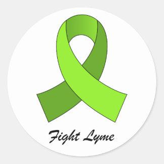 Fight Lyme Ribbon Sticker