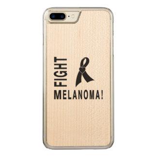 Fight Melanoma Carved iPhone 8 Plus/7 Plus Case
