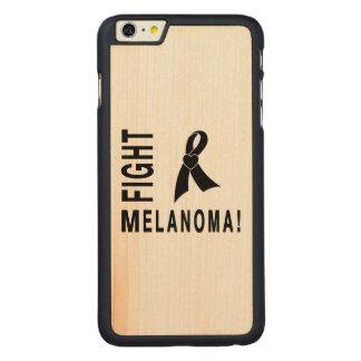 Fight Melanoma Carved Maple iPhone 6 Plus Case