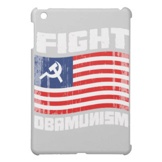 Fight Obamunism white Faded png Case For The iPad Mini