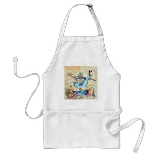fight of opposing kinds standard apron