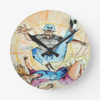 fight of opposing kinds wallclock