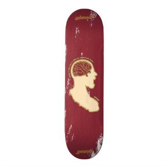 Fight or flight skateboard deck