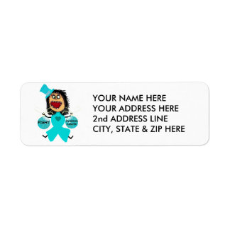 Fight Ovarian Cancer Return Address Label