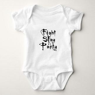 Fight Slay Party Baby Bodysuit