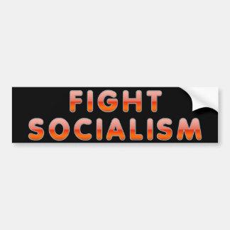 Fight Socialism Bumper Sticker