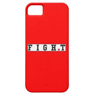 fight text message emotion feeling red dot square iPhone 5 covers