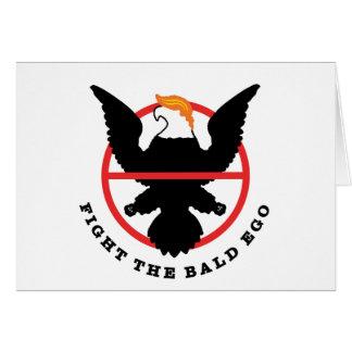 Fight the Bald Ego (light) Card