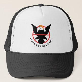 Fight the Bald Ego (light) Trucker Hat