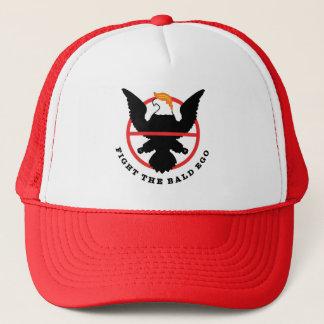 Fight The Bald Ego Trucker Hat