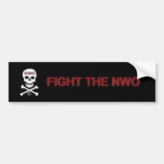 Fight the New World Order Bumper Sticker