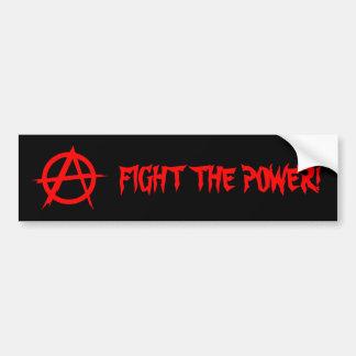 FIGHT THE POWER! Bumpersticker Bumper Sticker