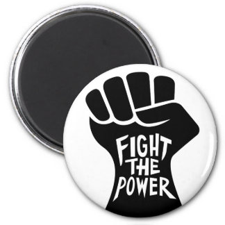 Fight the Power Fist Magnet