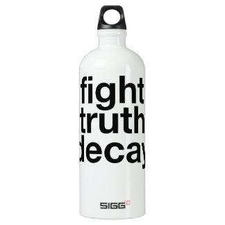 Fight Truth Decay! Resist Trump! Water Bottle