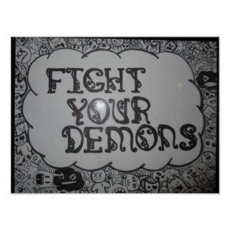 Fight Your Demons Poster