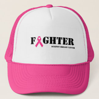 Fighter Against Breast Cancer Trucker Hat