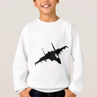 fighter aircraft sweatshirt