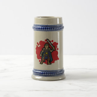 Fighter Beer Stein