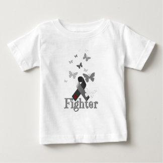 Fighter Diabetes Awareness Ribbon Baby T-Shirt