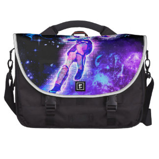 Fighter in the universe laptop commuter bag